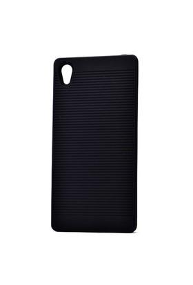 Lopard Sony Xperia Z5 Premium Kılıf Youyu Arka Sert Kapak Siyah