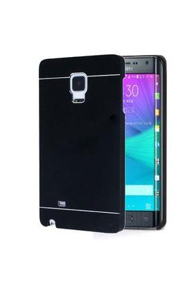 Microsonic Samsung Galaxy Note Edge Kılıf Hybrid Metal Siyah