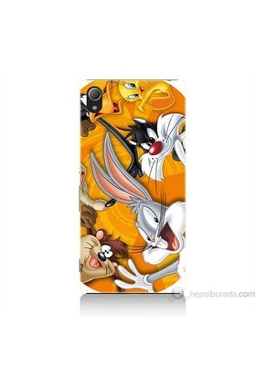 Teknomeg Sony Xperia Z4 Kapak Kılıf Disney Karakterleri Baskılı Silikon