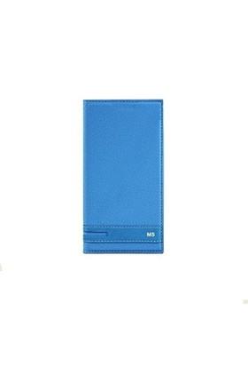 Magnum Sony Xperia M5 Kapaklı Kılıf Mavi