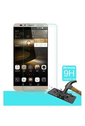 Microsonic Temperli Cam Ekran koruyucu Huawei Ascend Mate 7 - SG106-GLSS-HW-MATE7