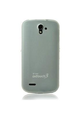 Teleplus Avea Touch 3 Silikon Kılıf Beyaz