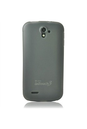 Teleplus Avea Touch 3 Silikon Kılıf Siyah