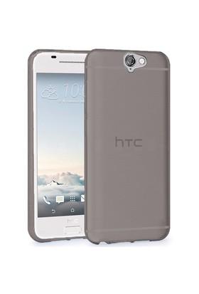 Microsonic Htc One A9 Kılıf Transparent Soft Siyah