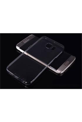 Teleplus Samsung Galaxy S6 Edge Silikon Kılıf Şeffaf