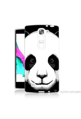 Teknomeg Lg G4c Kapak Kılıf Panda Baskılı Silikon