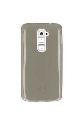 Mycolors LG G2 Açık Siyah İnce Silikon Arka Kapak - MYC-0097
