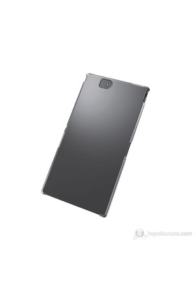 Elecom Shell Cover Sert Sony Xperia Z Ultra Kılıfı + Ekran Koruyucu Film (Şeffaf)