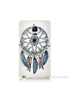 Teknomeg Samsung Galaxy Note Edge Kapak Kılıf Dream Catcher Baskılı Silikon