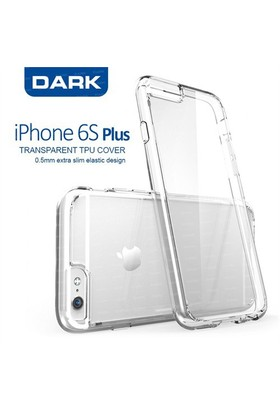 Dark Apple iPhone 6s Plus 0.5mm Ultra İnce Şeffaf Kılıf (DK-AC-CPI6SKL2PL)