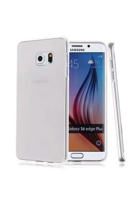Case 4U Samsung Galaxy S6 Edge Plus Ultra İnce Silikon Kılıf Şeffaf