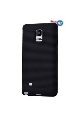 Case 4U Samsung Galaxy Note 4 You Korumalı Kapak Siyah