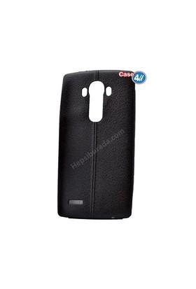 Case 4U Lg G4 Parlak Desenli Silikon Kılıf Siyah
