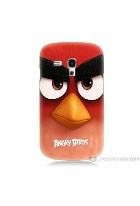 Teknomeg Samsung Galaxy S3 Mini Kapak Kılıf Angry Birds Baskılı Silikon