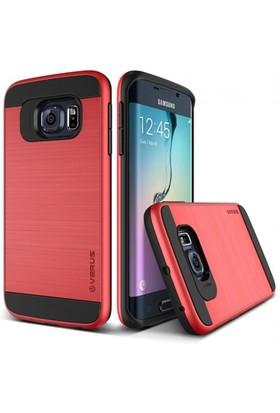 Verus Samsung Galaxy S6 Edge Kılıf Verge Kırmızı