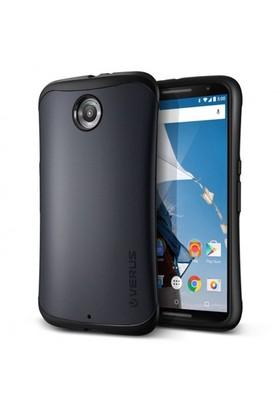 Verus Google Nexus 6 Kılıf Thor Hard Drop Siyah