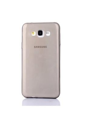 Gpack Samsung Galaxy J1 2016 Kılıf 0.2Mm Antrasit Silikon