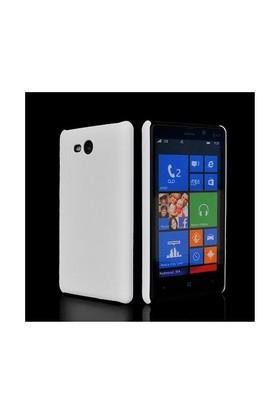Microsonic Rubber Kılıf Nokia Lumia 820 Beyaz