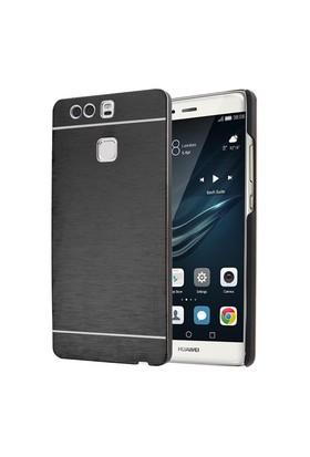 Microsonic Huawei P9 Kılıf Hybrid Metal Siyah