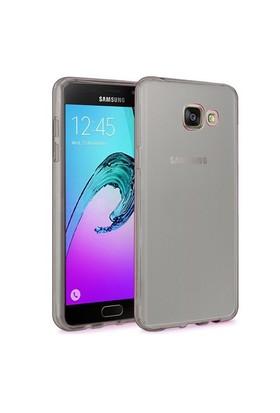 Microsonic Samsung Galaxy A9 2016 Kılıf Transparent Soft Siyah