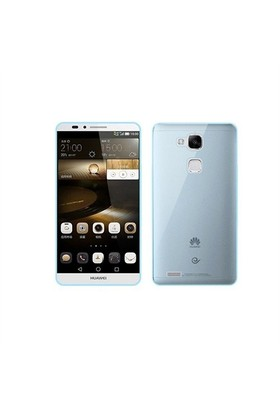 Kılıfshop Huawei Mate 7 Silikon Kılıf (Mavi)