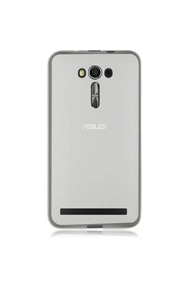 Gpack Asus Zenfone 2 Laser 6.0 Kılıf 0.2Mm Şeffaf Silikon