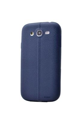 Teleplus Samsung Galaxy S3 Deri Görünümlü Silikon Kılıf Lacivert