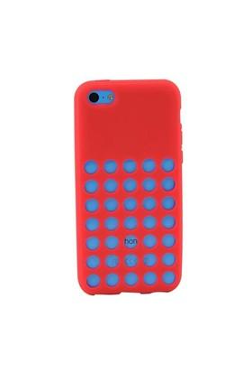 Duck Apple iPhone 5C Slikon Delikli Kapak Daily Pembe