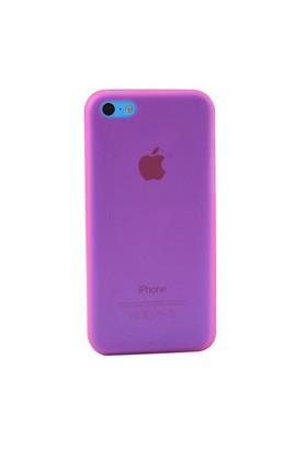 Duck Apple iPhone 5C Slikon Skiny Kapak Daily Pembe