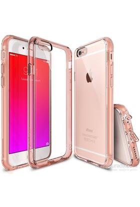 Ringke Fusion iPhone 6s/ 6 Kılıf Rose Gold - Extra Darbe Emici