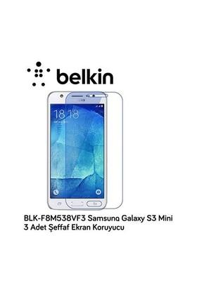 Belkin Blk-F8m538vf3 Samsung Galaxy S3 Mini 3 Adet Şeffaf Ekran Koruyucu
