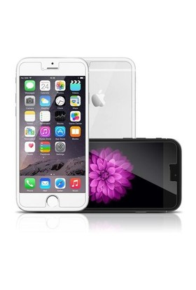 Markacase Apple İphone 6S Tempered Koruma Cam Ön Arka