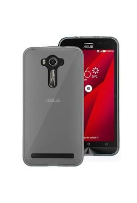 Microsonic Asus Zenfone 2 Laser 6 İnch Kılıf Transparent Soft Siyah