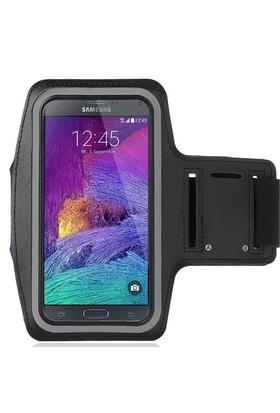 Case 4U Samsung Galaxy Note 4 Kol Bandı Siyah