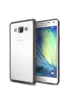 Rearth Samsung Galaxy A7 Şeffaf Siyah Ringke Fusion Kılıf