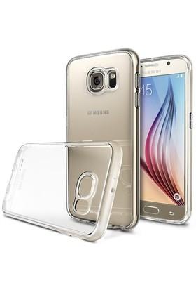 Rearth Samsung Galaxy S6 Şeffaf Ringke Flex Kılıf