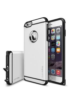 Rearth Apple iPhone 6 Beyaz Arka Kapak