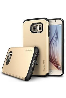 Rearth Samsung Galaxy S6 Altın Ringke Max for Kılıf
