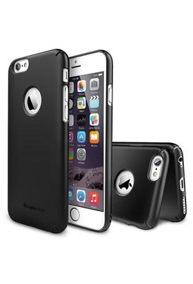 Rearth Apple iPhone 6 Plus Siyah Ringke Slim Kılıf
