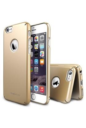 Rearth Apple iPhone 6 Altın Ringke Slim Kılıf