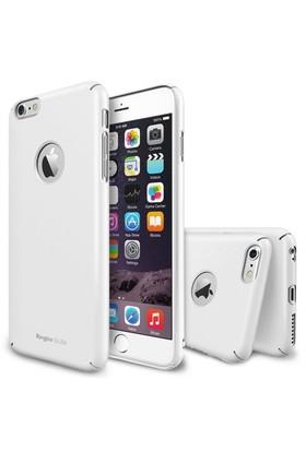 Rearth Apple iPhone 6 Beyaz Ringke Slim Kılıf
