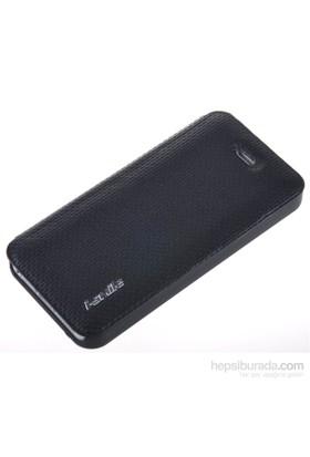 Qapak Smle Kumaş Kılıf iPhone 5/5s Siyah uz244434003146