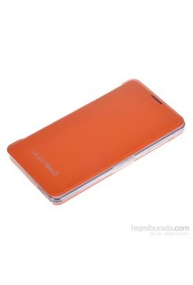 Qapak Samsung Galaxy Note 3 Flipcover Kılıf Turuncu uz244434003533