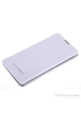 Qapak Samsung Galaxy Note 3 Flipcover Kılıf Beyaz uz244434003536