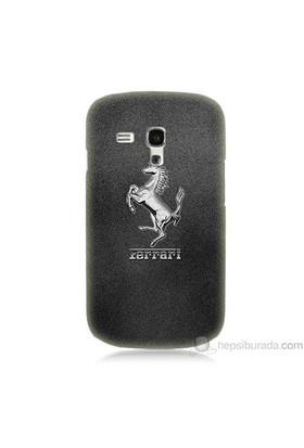 Teknomeg Samsung Galaxy S3 Mini Kapak Kılıf Ferrari Baskılı Silikon