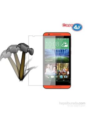 Case 4U HTC Desire 820 Ekran Koruyucu (,Cizilmez-Anti Shock)*