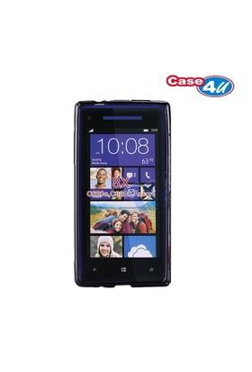 Case 4U HTC Windows Phone 8x Siyah Kılıf