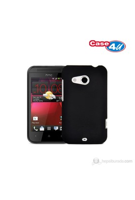 Case 4U Htc Desire 200 Siyah Kapak