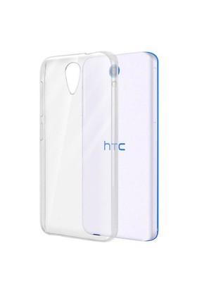 Case 4U HTC Desire 620 Ultra İnce Şeffaf Silikon Kılıf