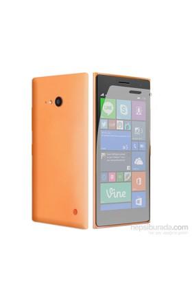 Case 4U Nokia Lumia 735 Ultra Şeffaf Ekran Koruyucu